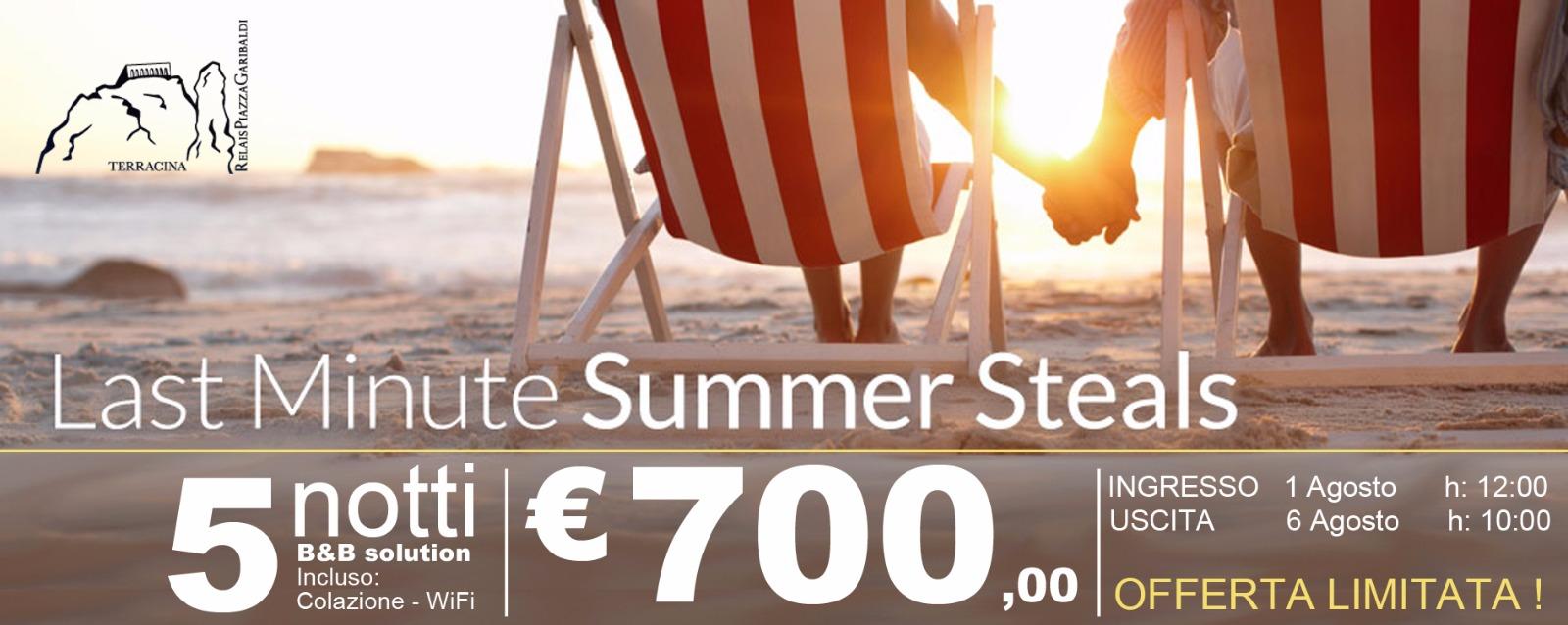 5 notti a 700 euro